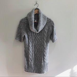 Old Navy Grey Turtleneck Sweater